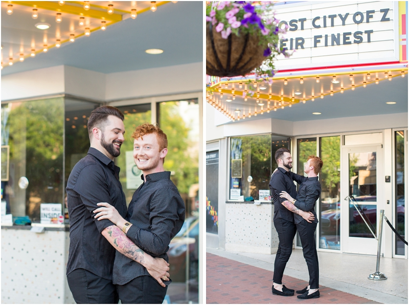 gay engagement photos