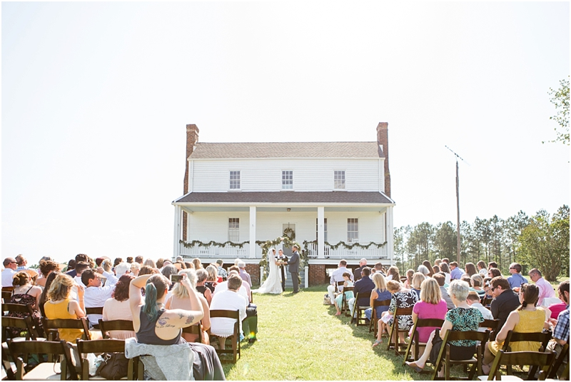 intimate south carolina wedding