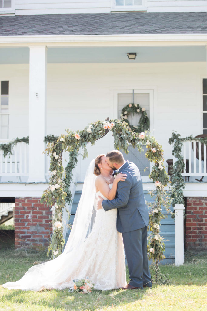 intimate South Carolina wedding