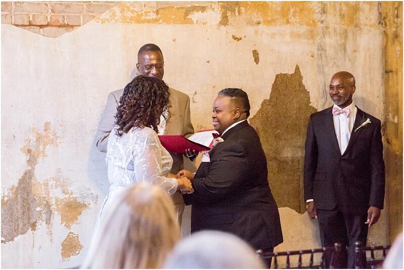 Wedding at Lula Drake Wine Parlour