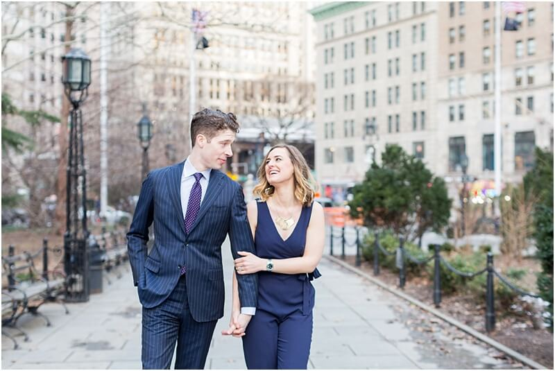 Anniversary Photoshoot in New York City
