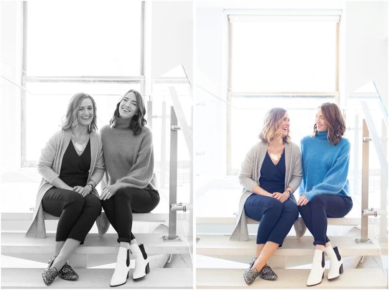 Two Bright Lights Team Photos: Meghan Brown & team