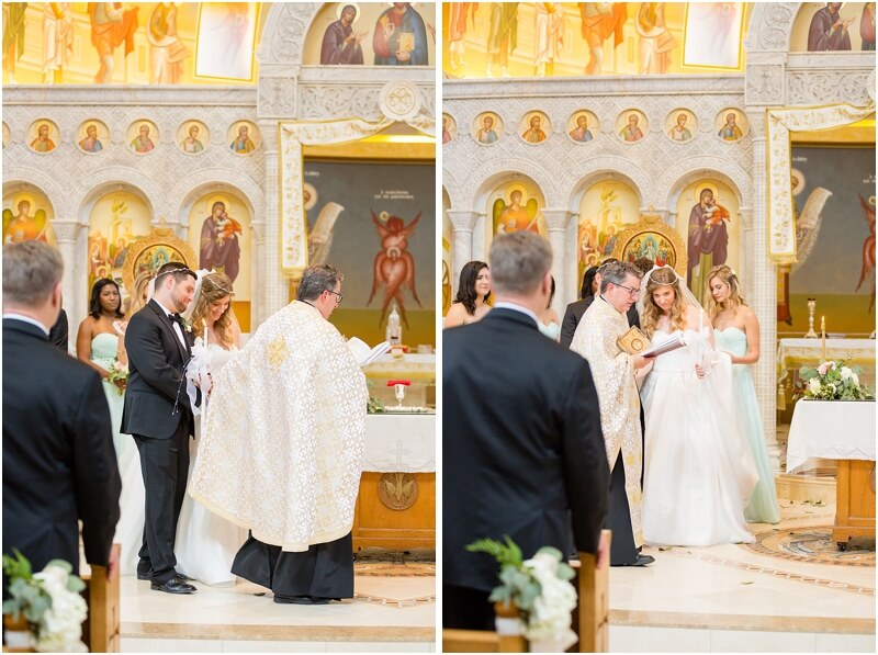 Wedding at Holy Trinity Columbia
