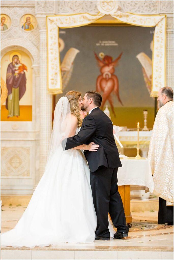 South Carolina orthodox church wedding