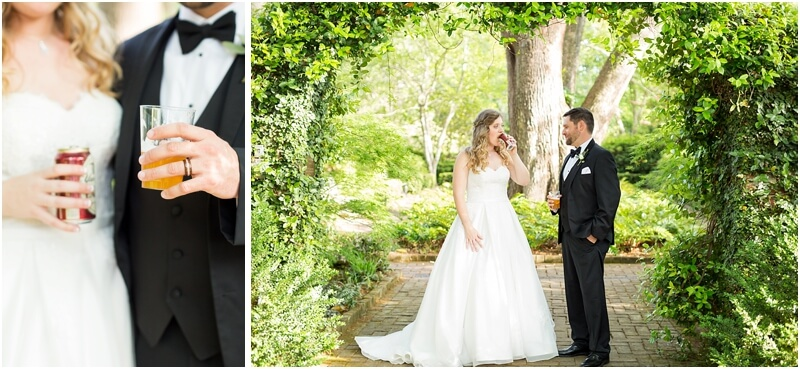 Columbia SC Garden Wedding