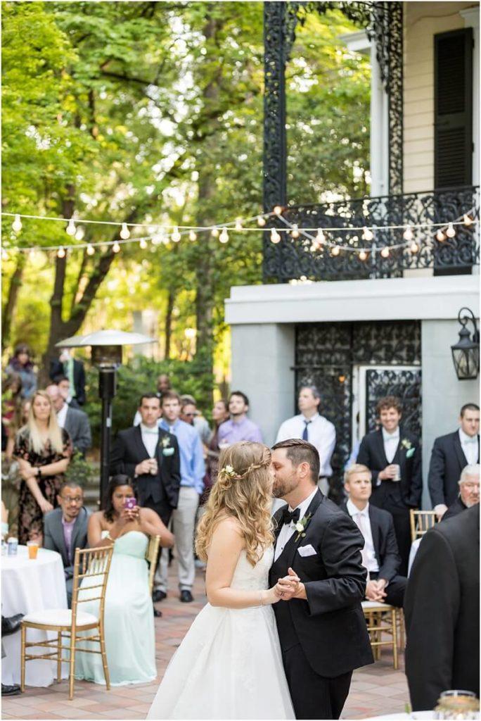 SC Lace House wedding reception