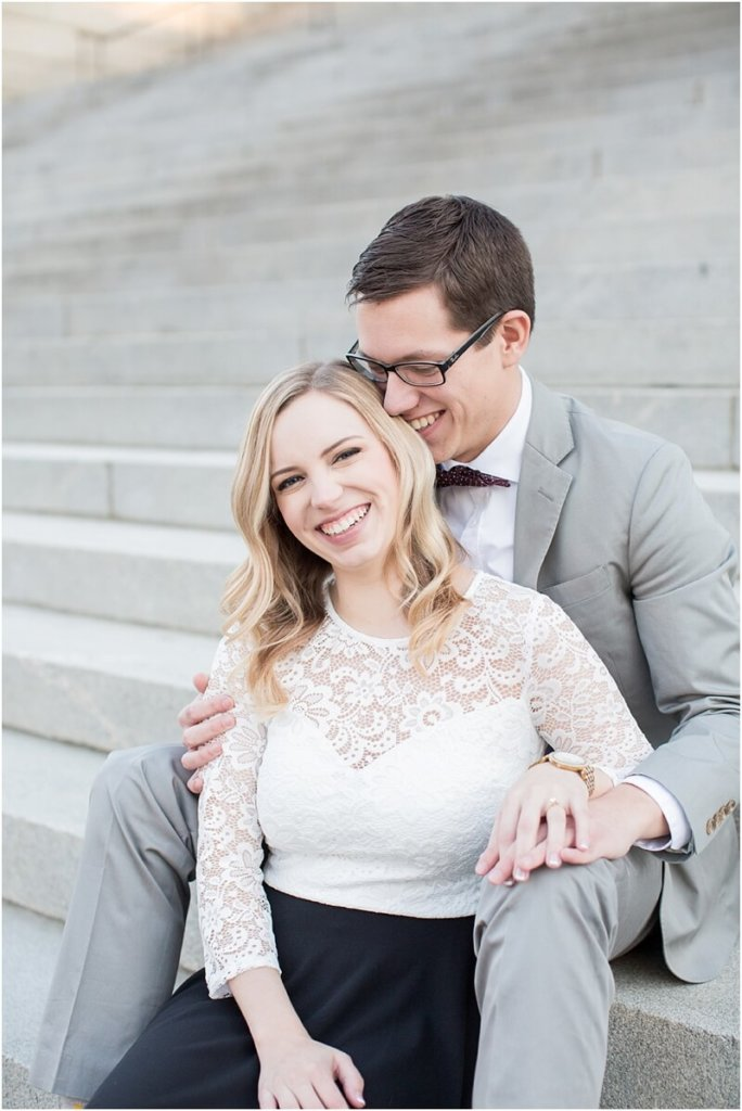 south carolina statehouse grounds engagement photos