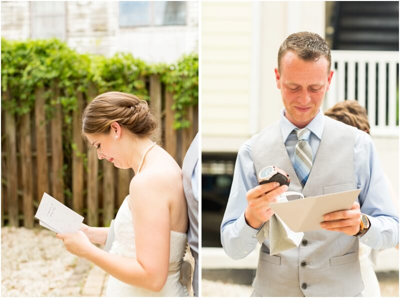 Tybee island beach wedding photos, emotional wedding moments