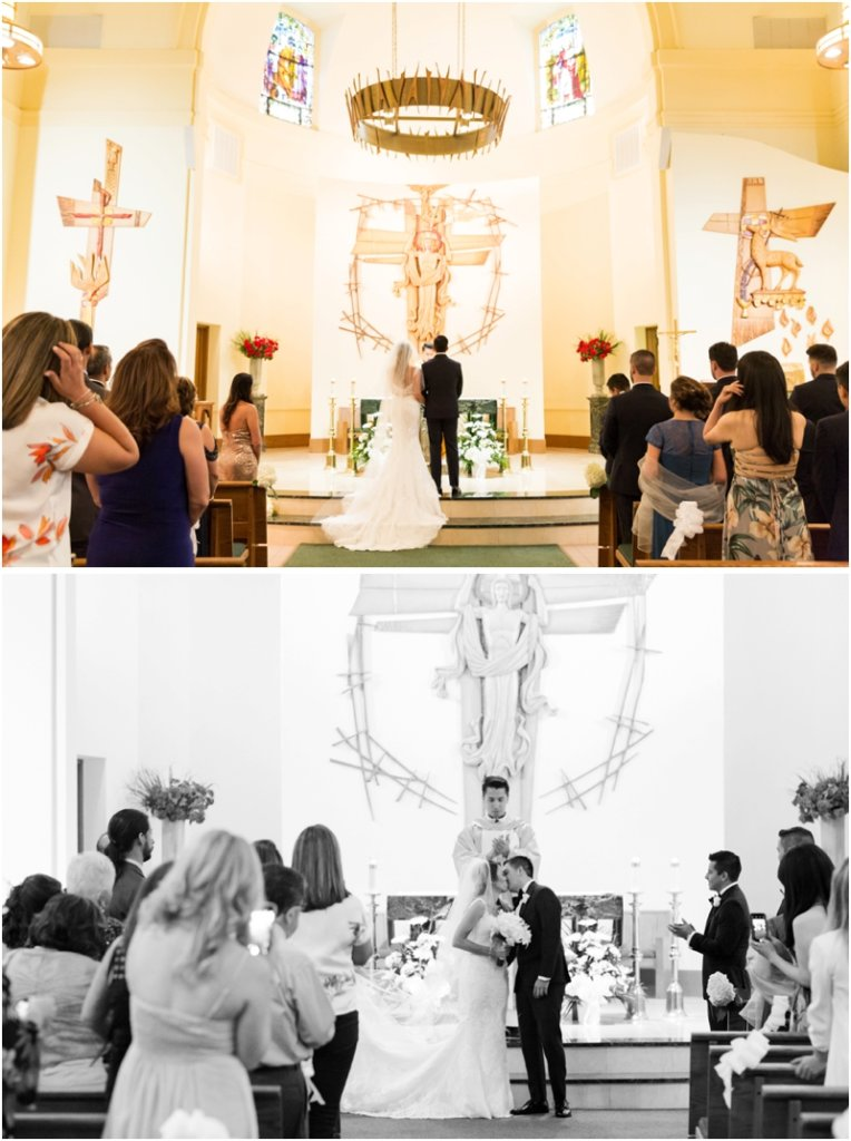 Holy Trinity Catholic Church wedding photos Morristown, New Jersey