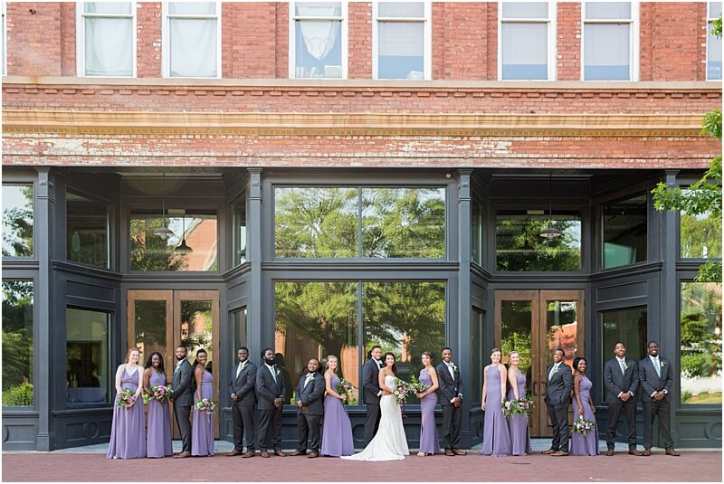 701 Whaley Wedding Ceremony 701 Whaley wedding venue Columbia south Carolina wedding portraits