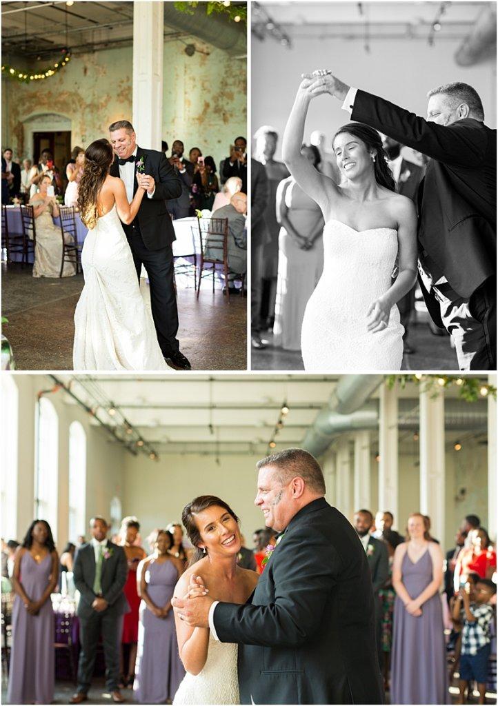 701 Whaley wedding photos wedding reception photos parent dances