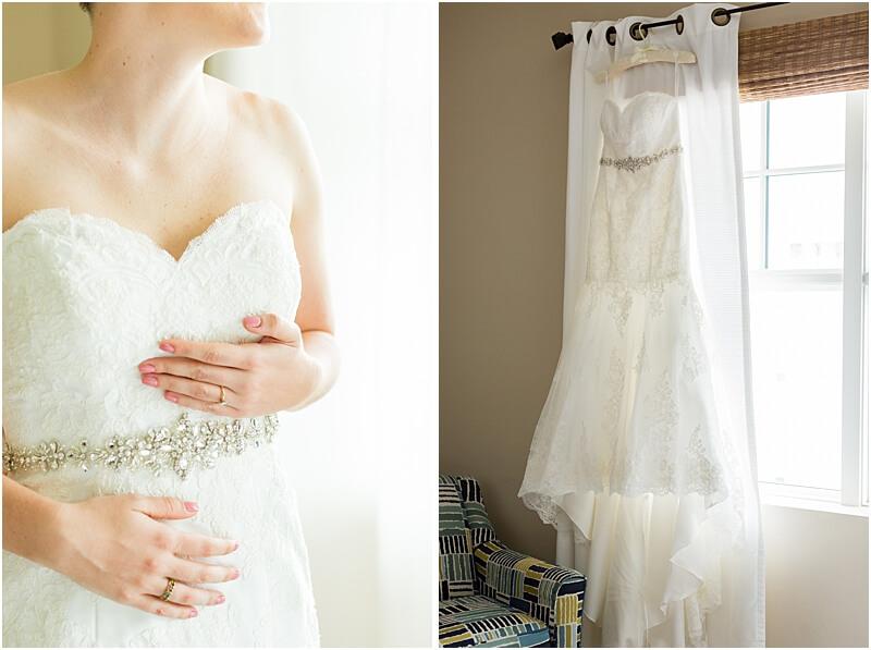 LGBTQ+ Citadel Beach Club Bride and Wedding Dress