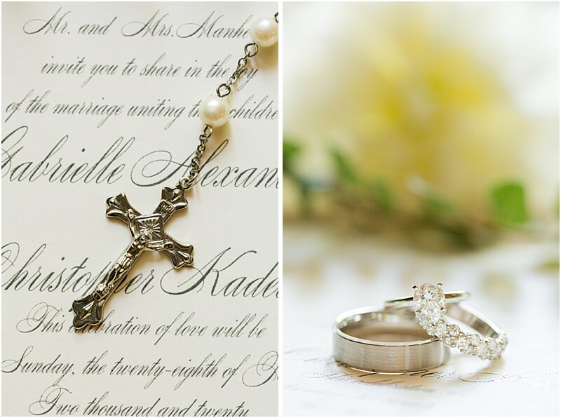 Columbia, SC Intimate Wedding Jewelry and details at Lace House at Arsenal Hill