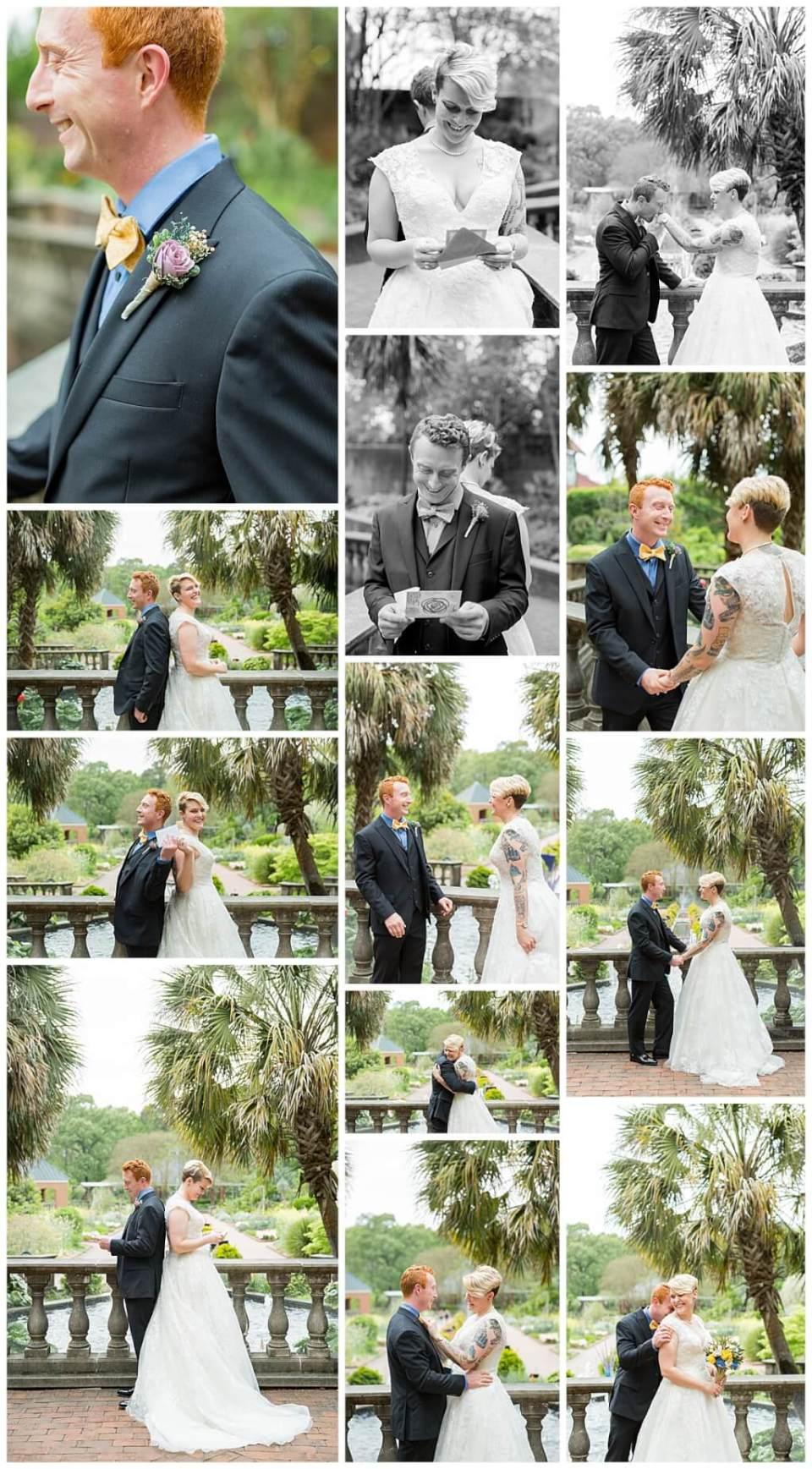 Riverbanks Zoo Botanical Garden LGBTQ Friendly Wedding First Look