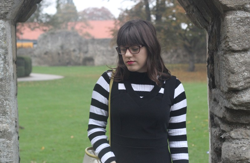 striped-jumper-black-dress