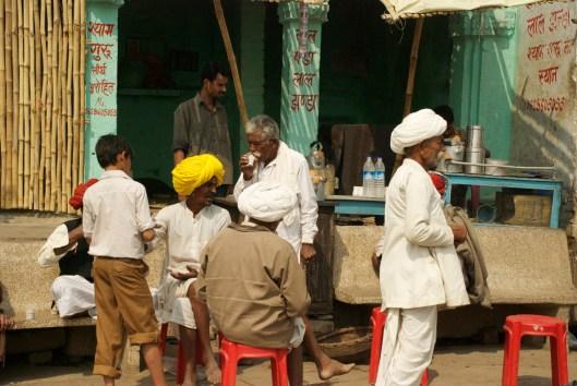 Chai in Varanasi India