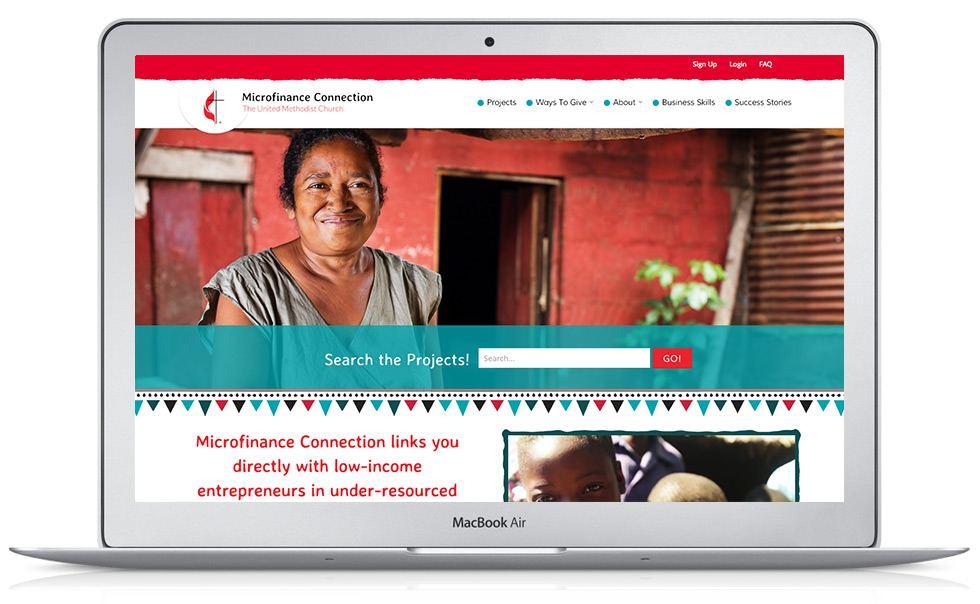 UMC Microfinance Connection WordPress Website Development