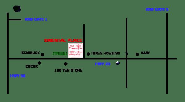 oriental map