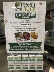 Catering marketing campaign