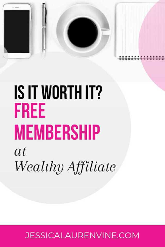 white,pink and black graphic with text about wealthy affiliate
