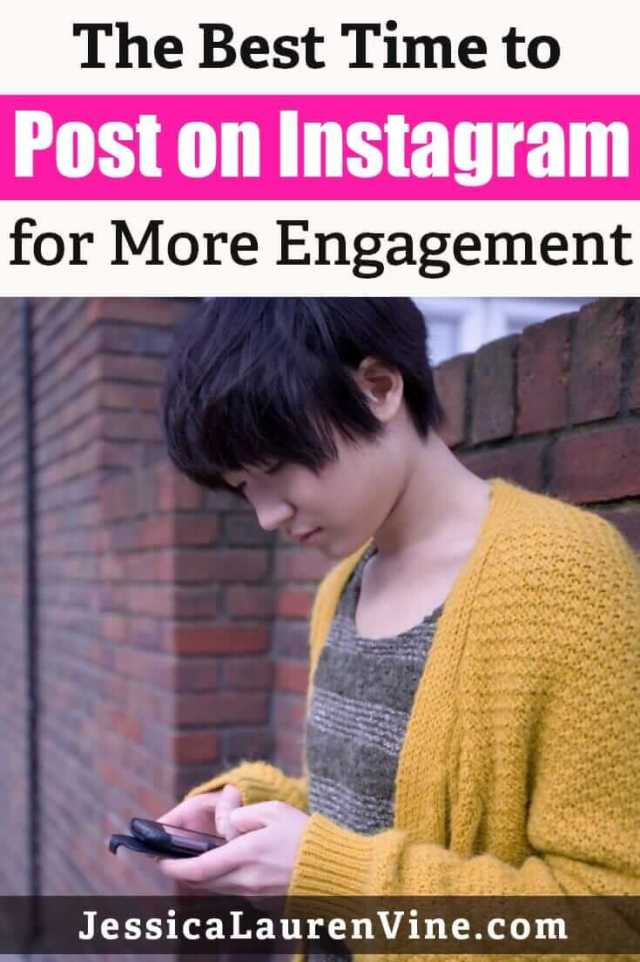 when to post on instagram for more engagement