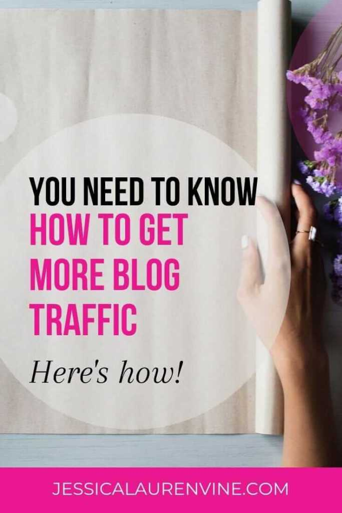 Learn how to get more traffic to your blog today