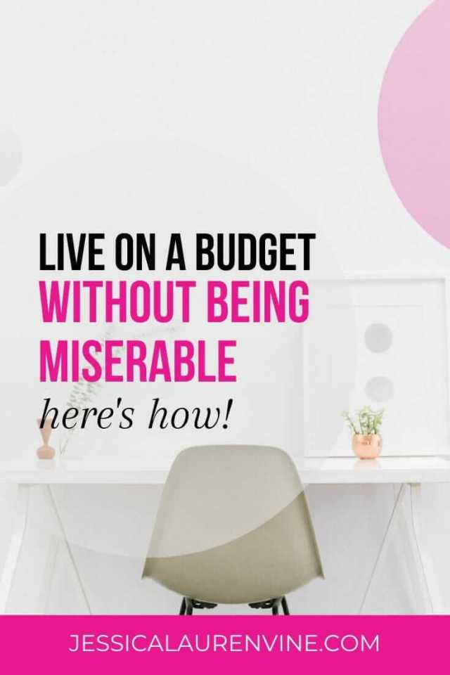 how to live on a budget