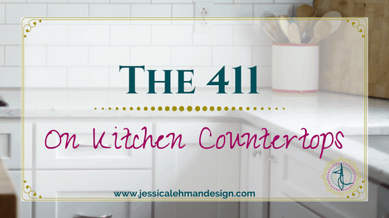 Kitchen countertop materials explained