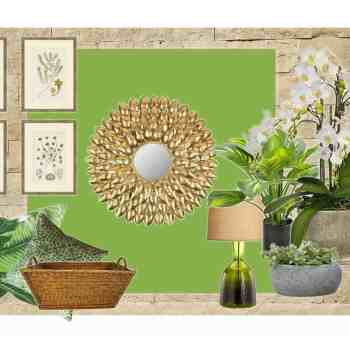 Color Scheme-Pantone Greenery