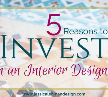 5 Reasons to invest in an interior designer