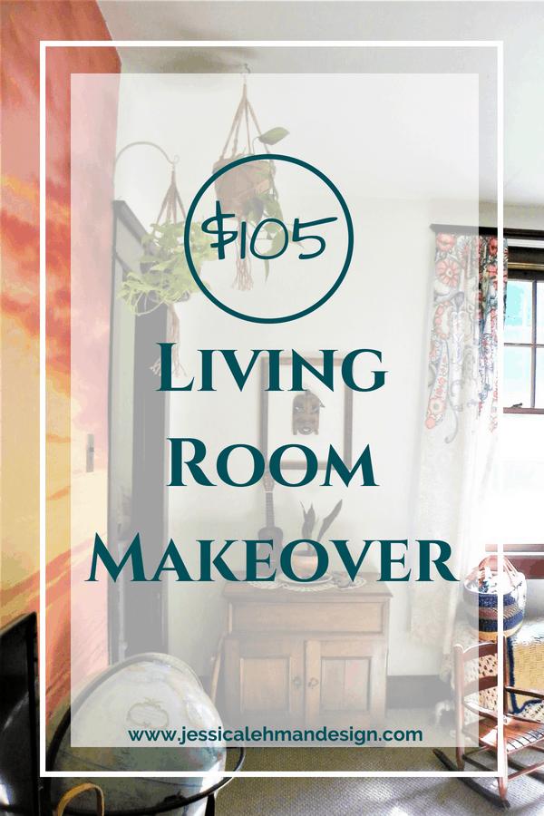 $105 Living Room Makeover