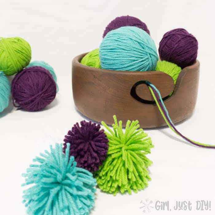 DIY Christmas Gift -Yarn-Bowl-GirljustDIY