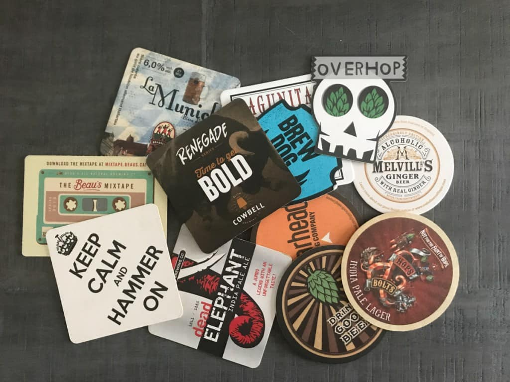 DIY Christmas gift-craft-beer-coasters- House by the Bay