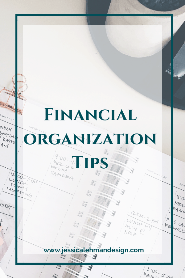 Financial organization tips