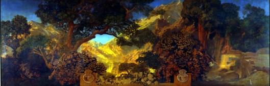 Maxfield Parrish, Dream Garden