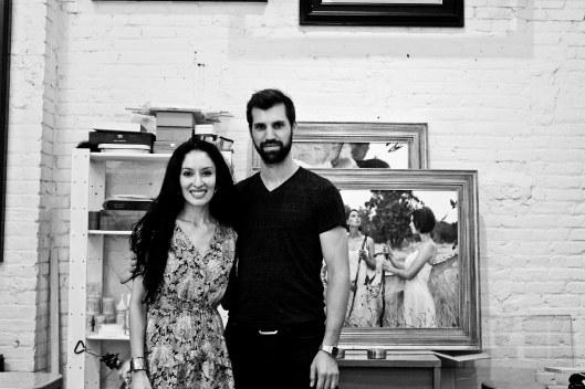Jessica Libor and Brad Kunkle