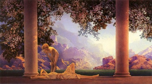 Daybreak, by Maxfield Parrish