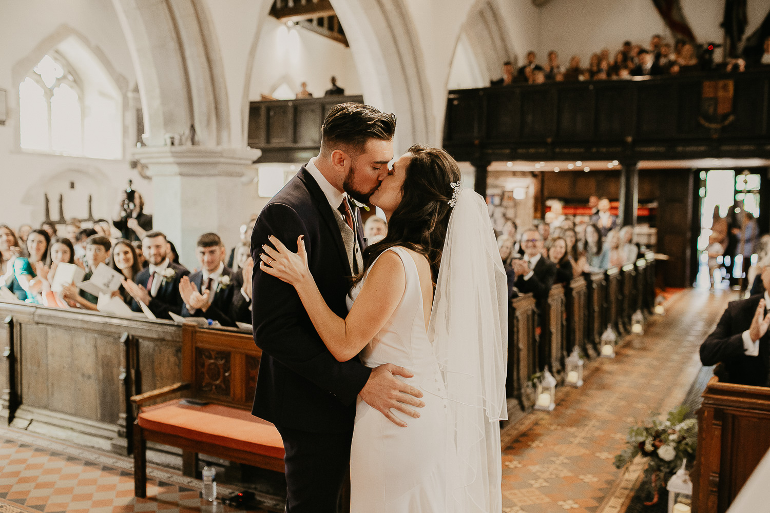 Couple getting married in Surrey UK