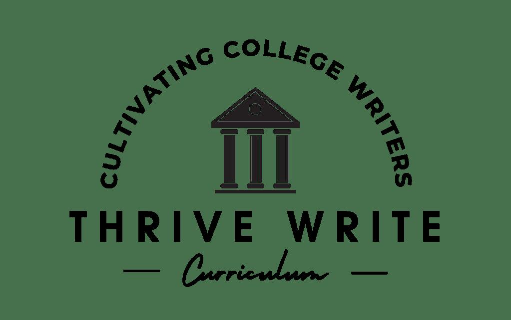 Thrive Write Curriculum