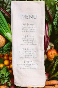 pretty menu 16