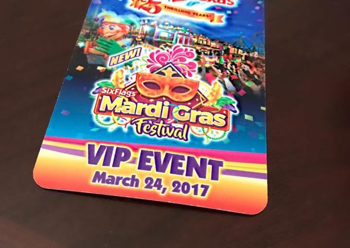 Mardi Gras at Six Flags Fiesta Texas