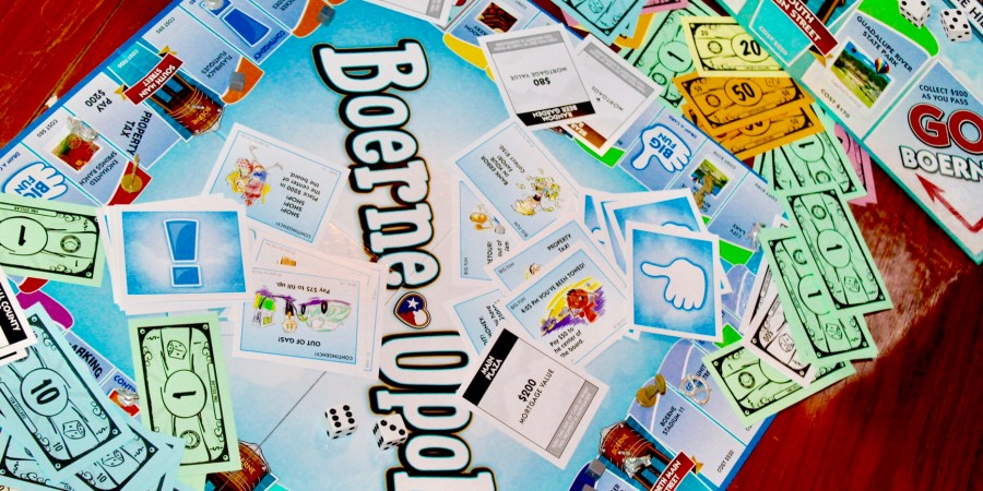 d1d02b61493a Game Night Fun With Boerne-Opoly – THE BOERNE BLONDE
