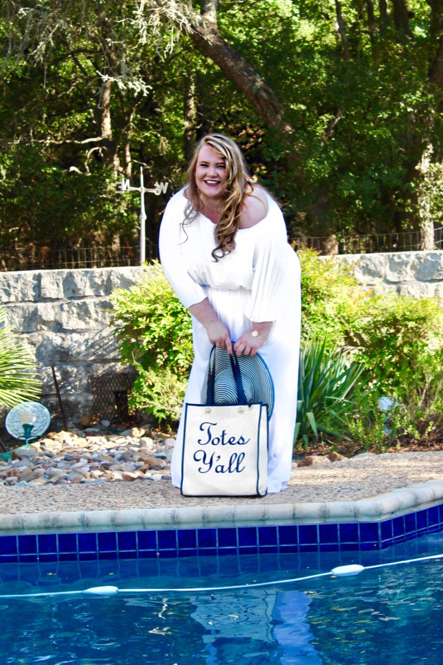 fe7d5a017af4 Summer Poolside Style  White Party – THE BOERNE BLONDE