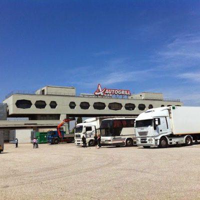 An Italian Truck Stop