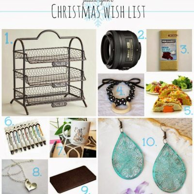 My Christmas Wish List {part one}