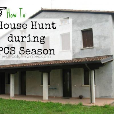 How to House Hunt During PCS Season