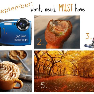 Want, Need, MUST Have {september}