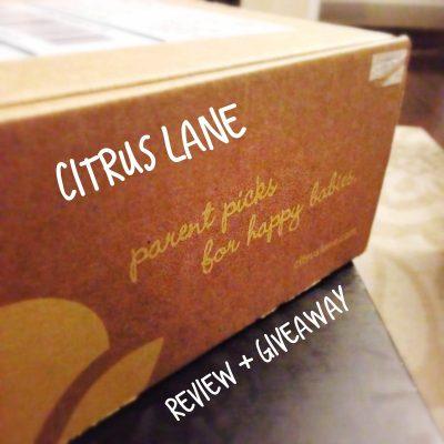 Citrus Lane {September box}