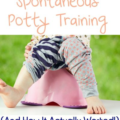 Spontaneous Potty Training {And How it Actually Worked}
