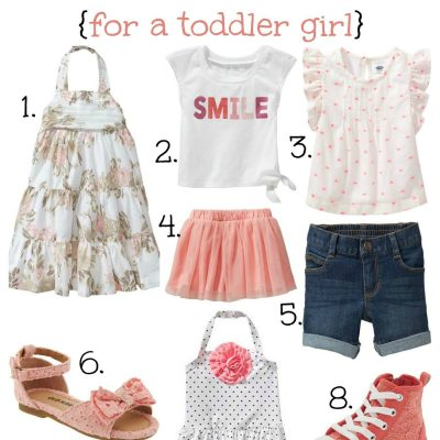 Spring into Summer: Clothes for Little Girls